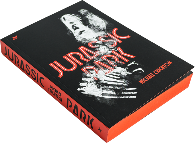 Impressões do livro Jurassic Park de Michael Crichton