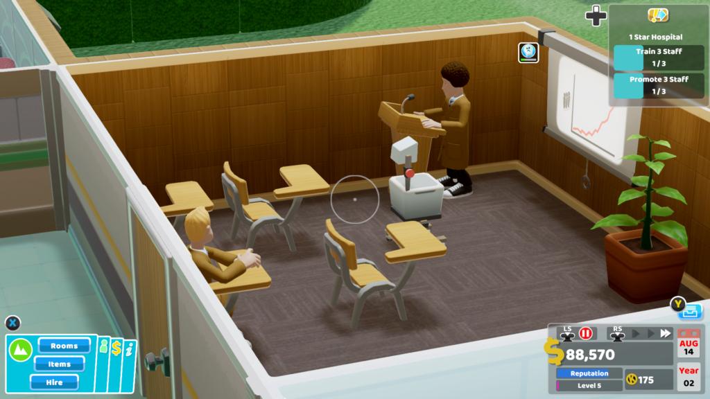 Two Point Hospital | Tão divertido nos Consoles quanto no PC